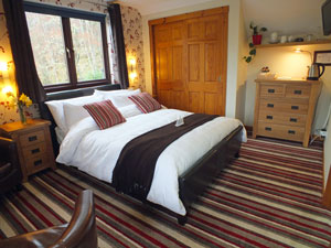 Double room overlooking Loch Ness