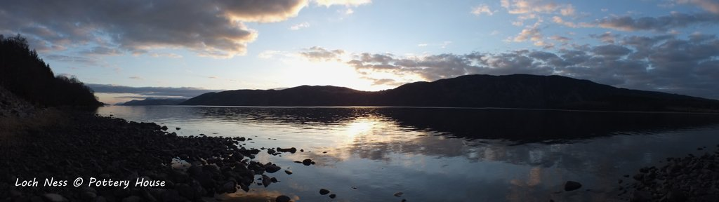 Iconic views of Loch Ness from Dores
